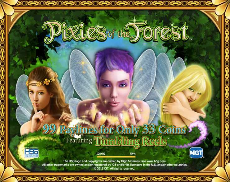 pixies of the forest igt