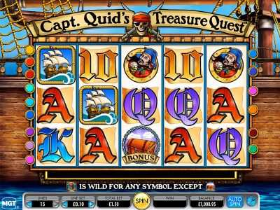 /onlineslotsx.com captain quids treasure quest online slot game