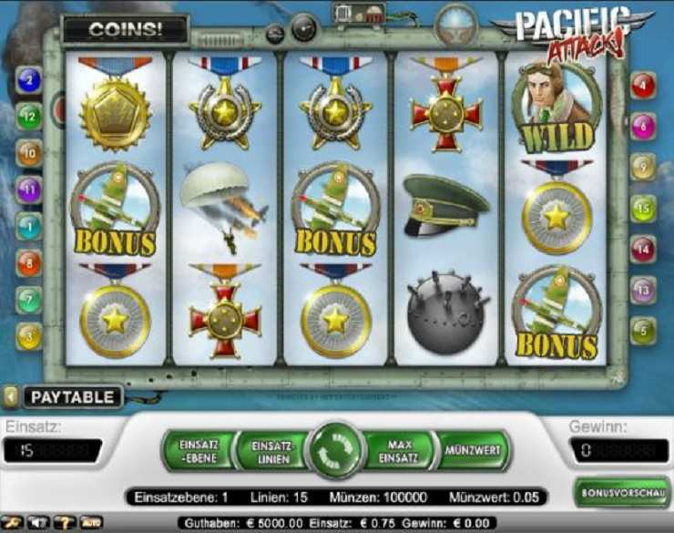Spiele Pacific Attack Slots - Video Slots Online