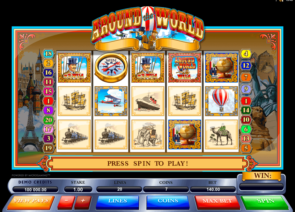 Practice The Around The World Slot Machine With No Registration
