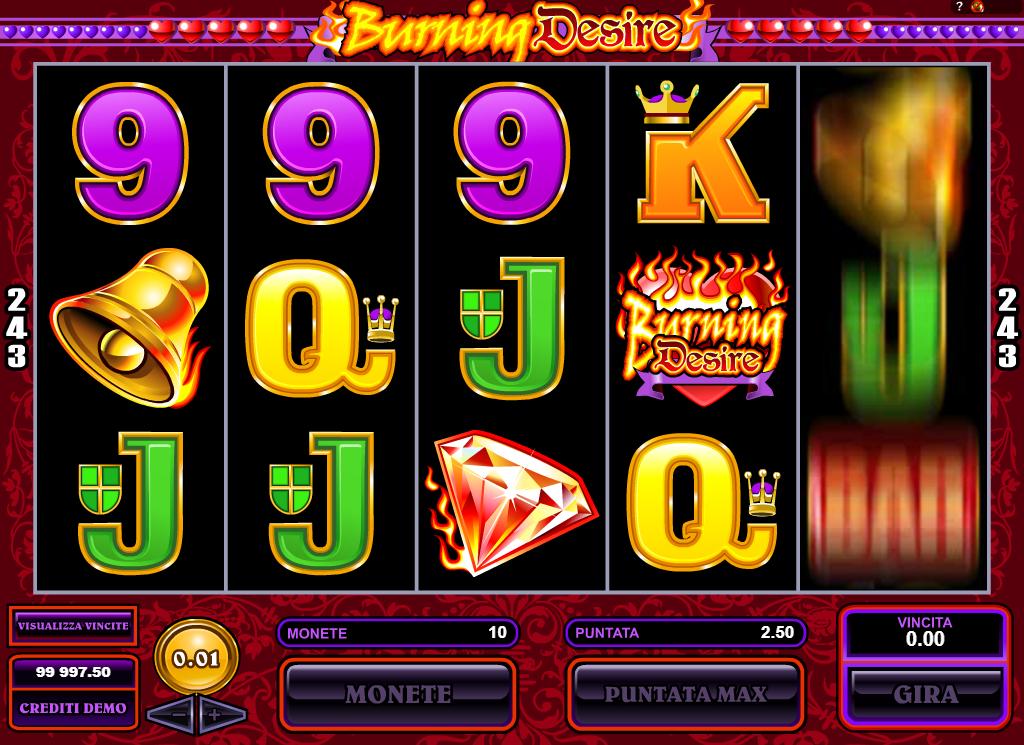 Spiele Burning Desire - Video Slots Online
