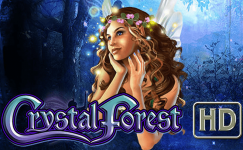 crystal forest slot wms gaming
