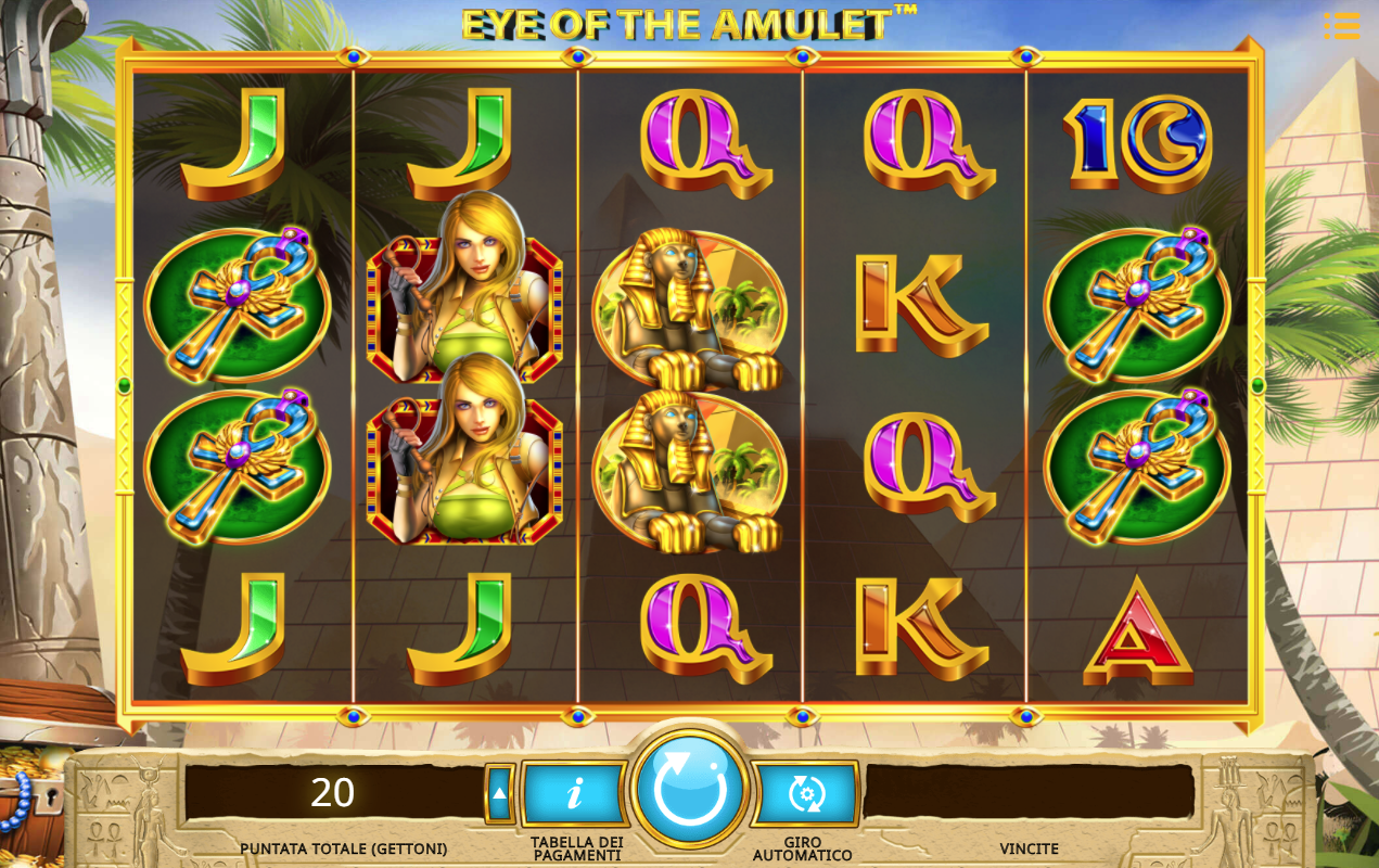 Play The Amulet And The Charm Slot Machine Free With No Download
