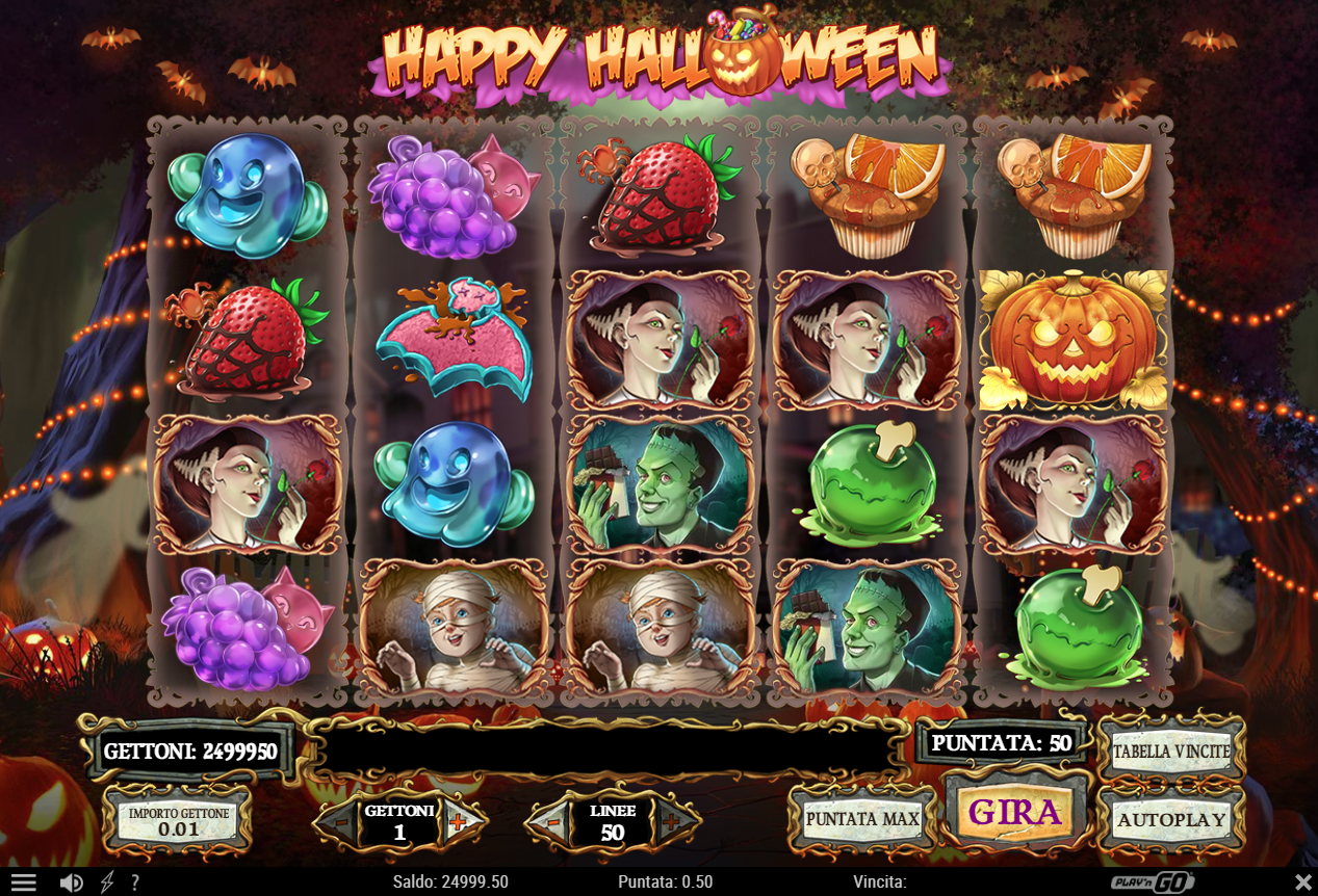 Play Happy Halloween slot without registration