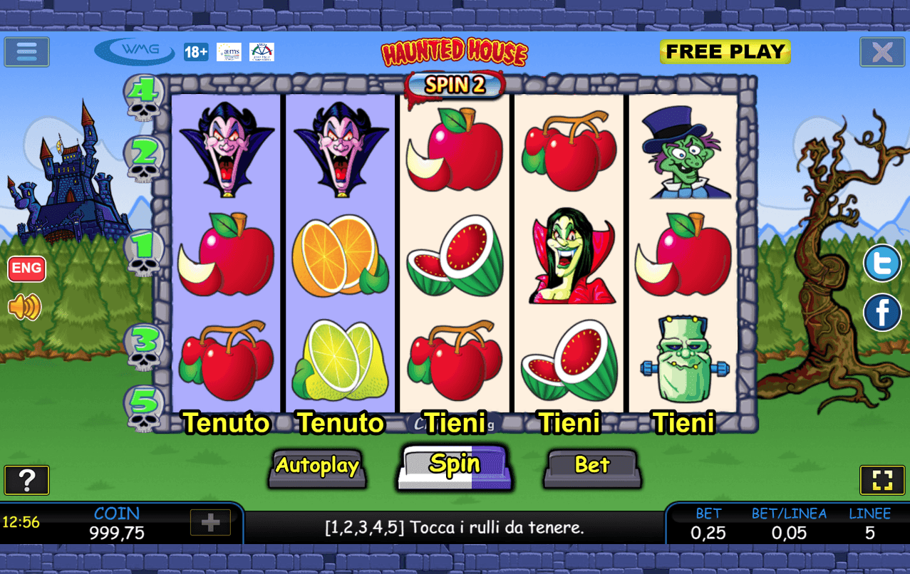 Slot Machine Online Gratis Haunted House