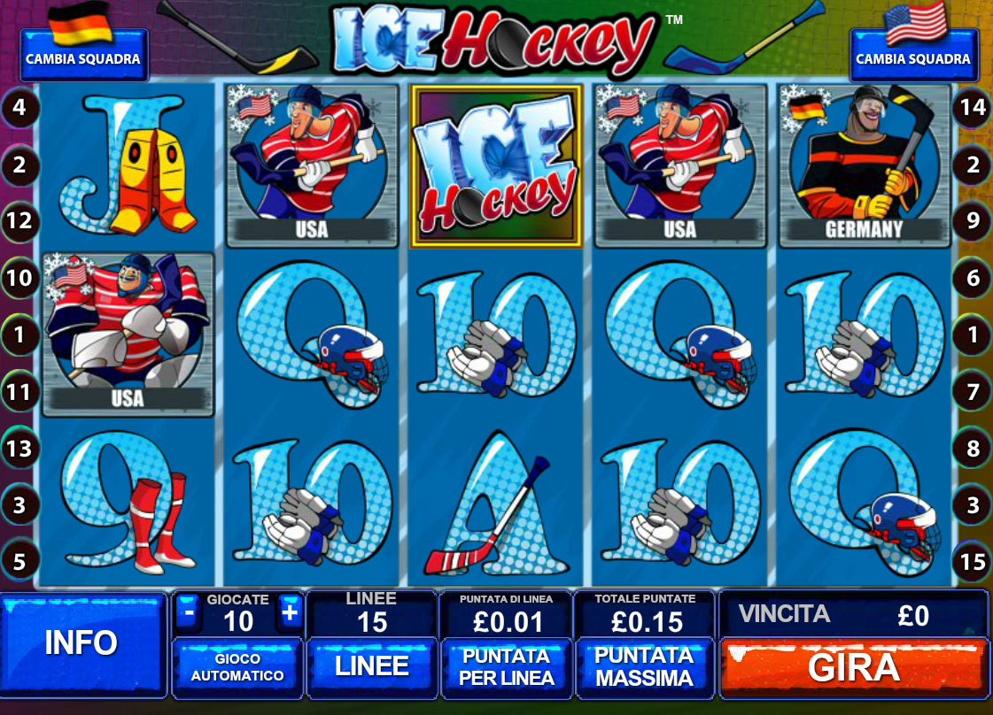 Ice Hockey Slot Machine Online Play Free Ice Hockey Game