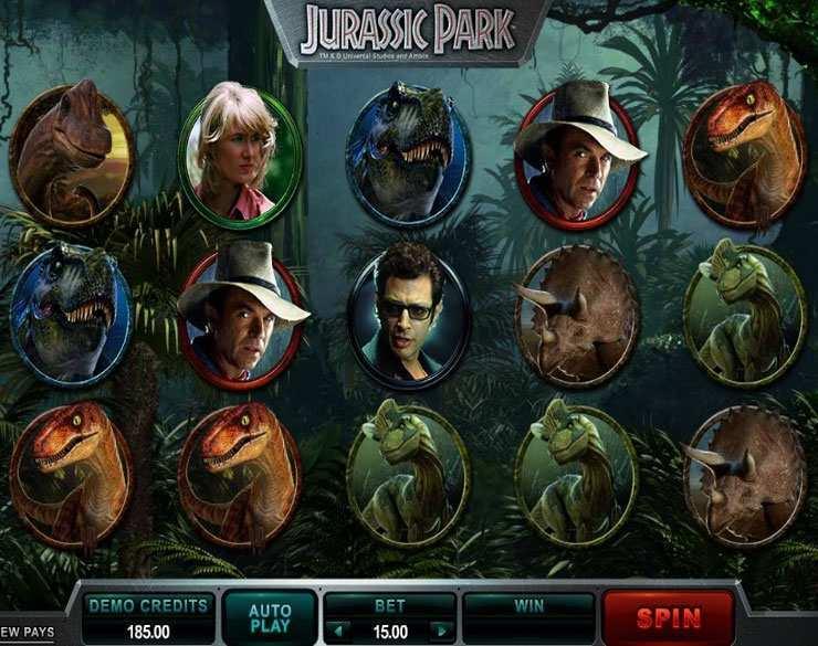 Jurassic Park – den Movie Slot im Internet spielen