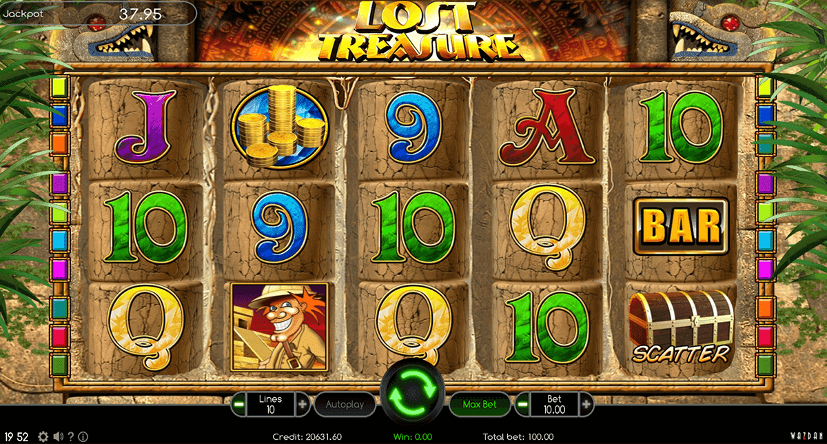 5 treasure slot online