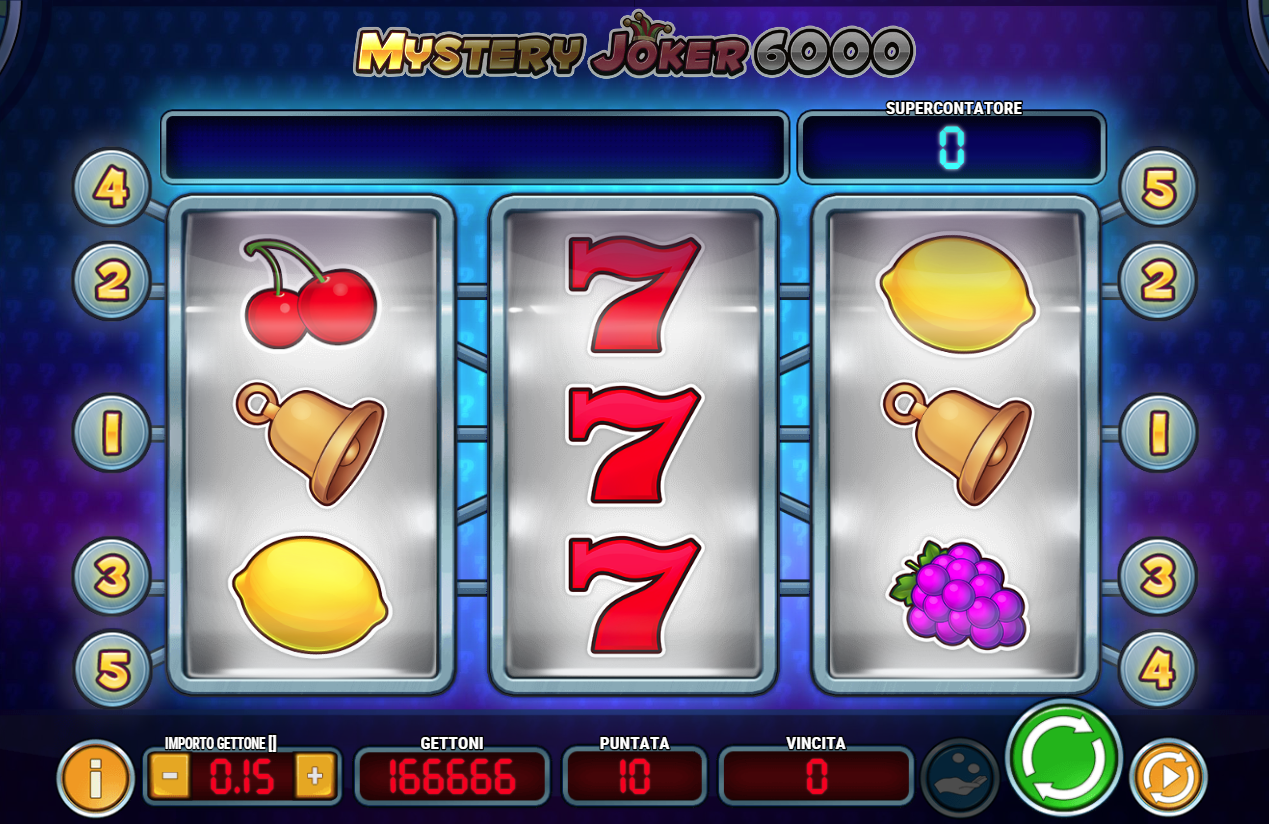 Slot machine gioca gratis senza scaricare
