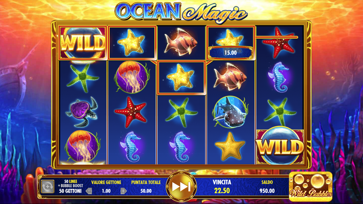 🥇 Ocean Magic Slot Machine Online ▷ Play FREE Ocean Magic