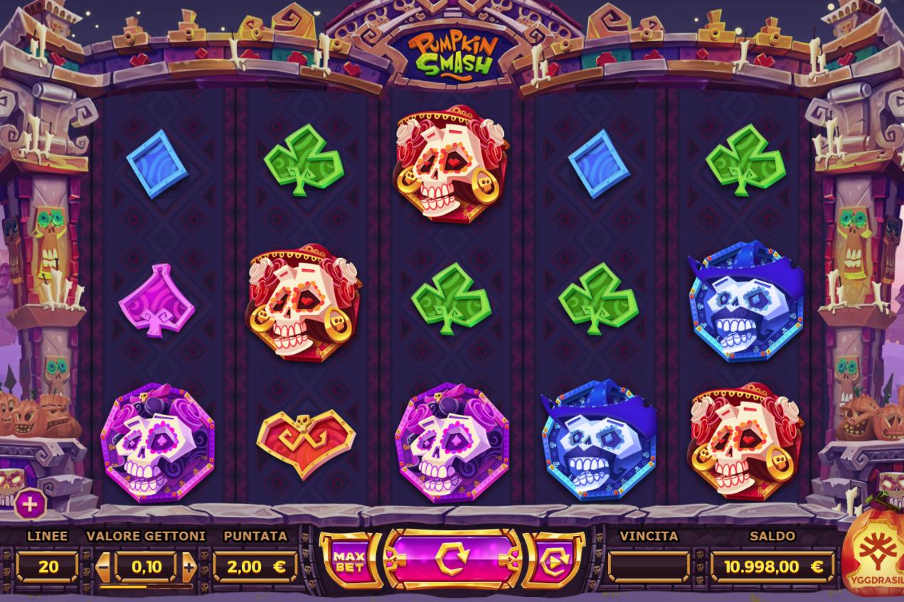 Smash n grab slot machine