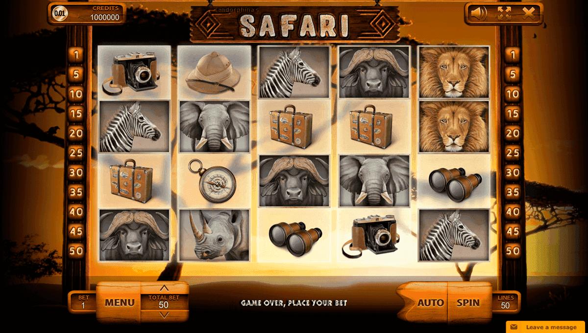 Slot machine safari