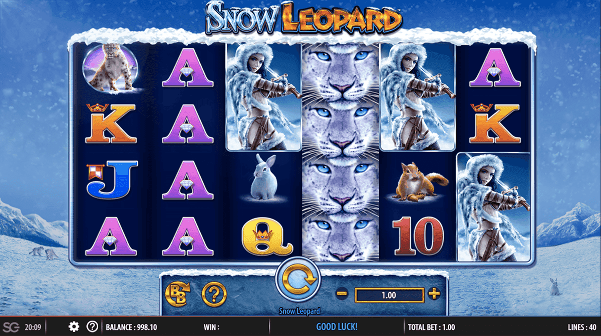 Snow Leopard Slot Machine
