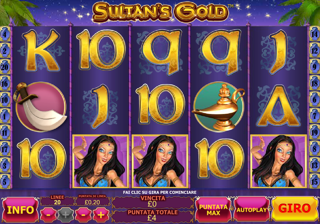 Sultan's Gold Slot Machine Online Play FREE Sultan's Gold