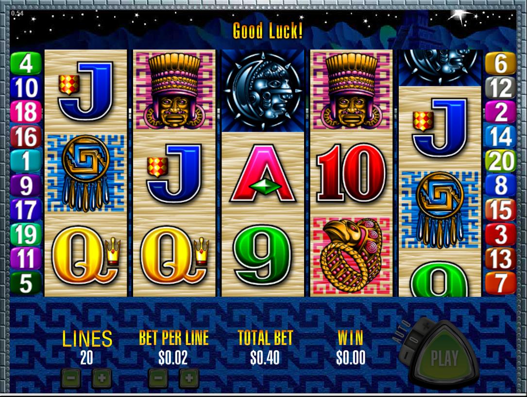 Play Sun And Moon Slot Machine Free