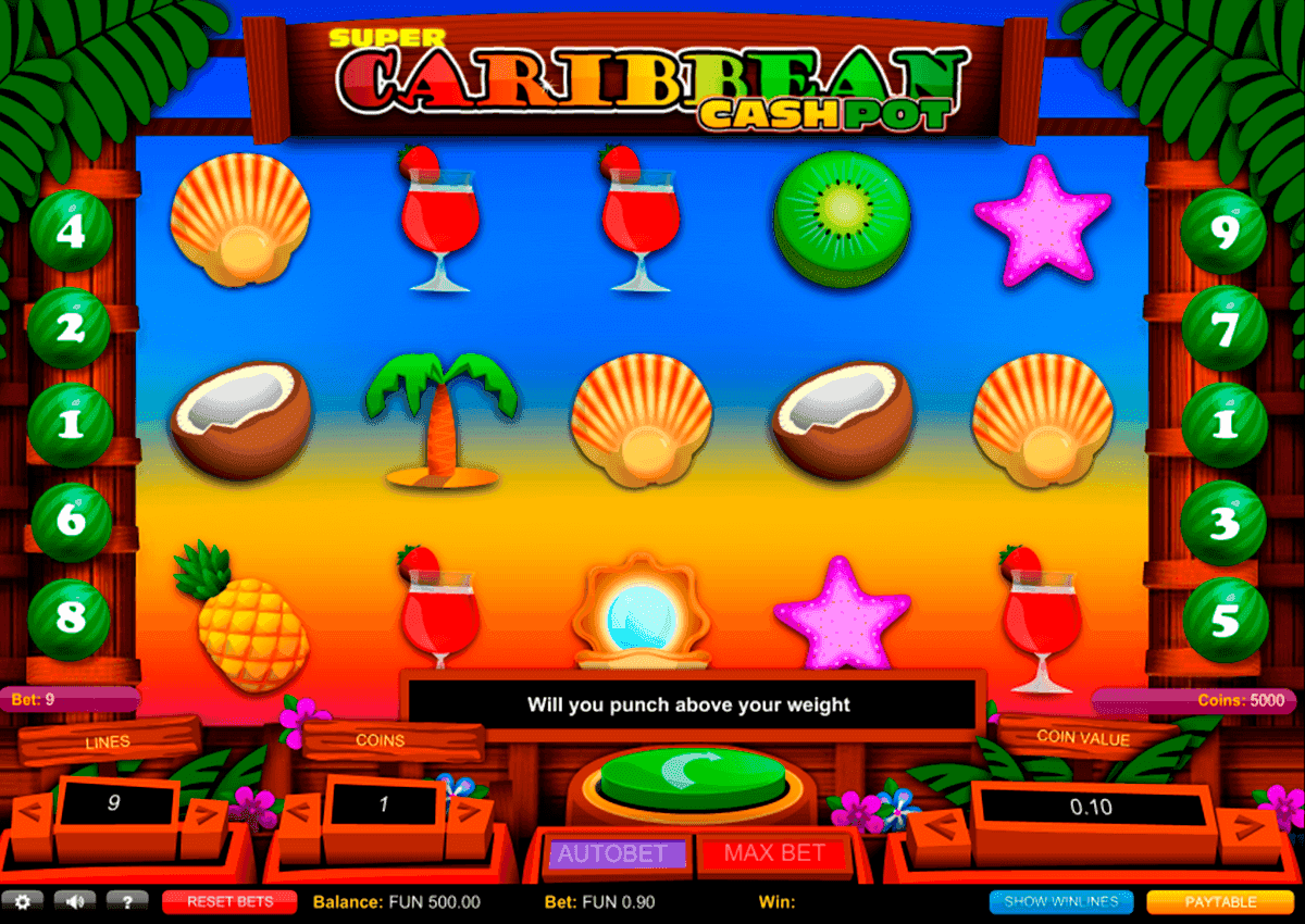 Spiele Super Caribbean Cash Pot - Video Slots Online