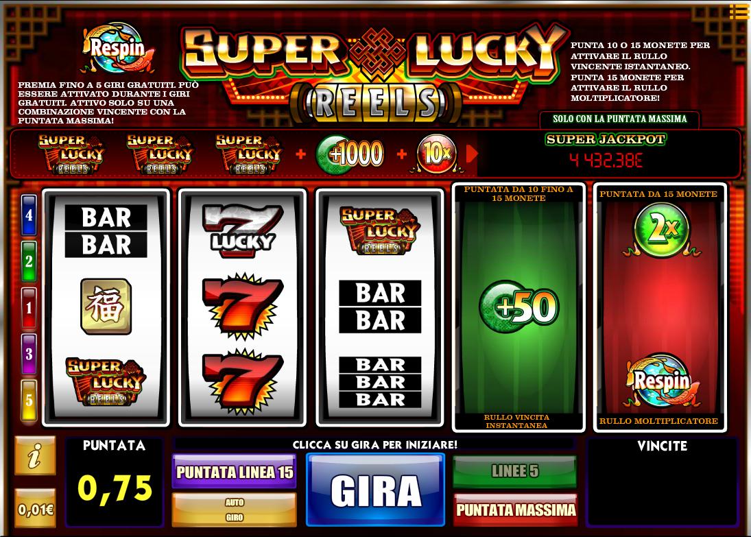 Giochi slot machine da bar gratis