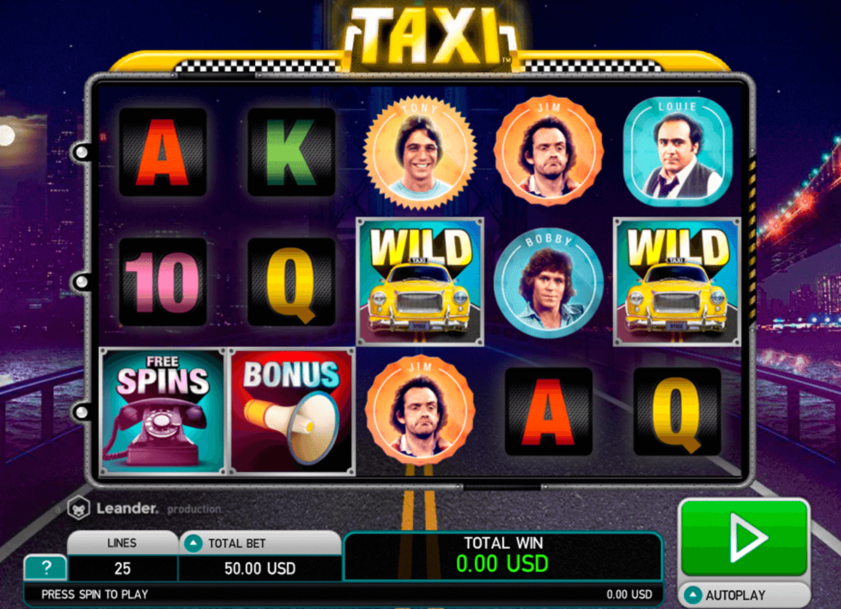 Play the Taxi Slots with No Download from Amaya