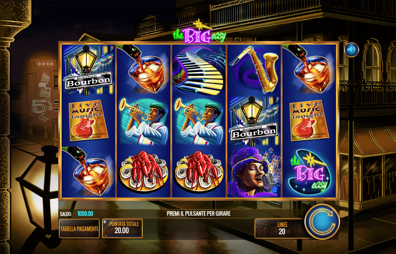 Giochi di casino slot machine gratis