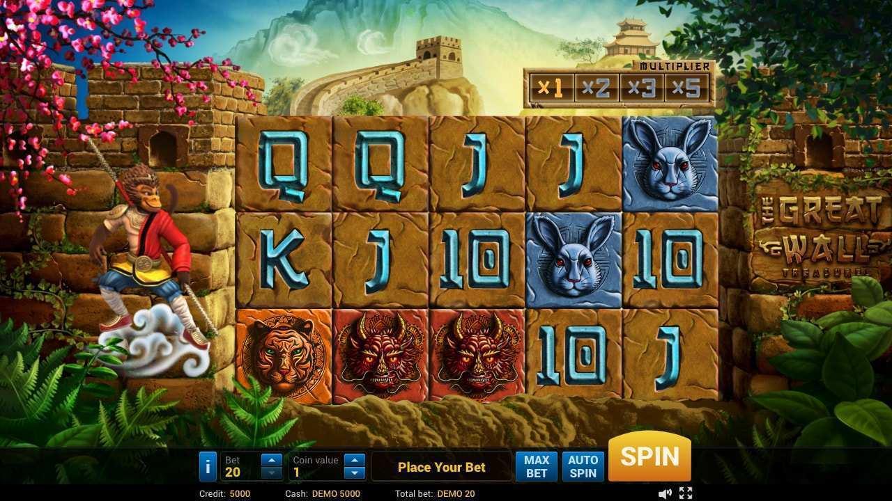 Spiele The Great Wall Treasure - Video Slots Online