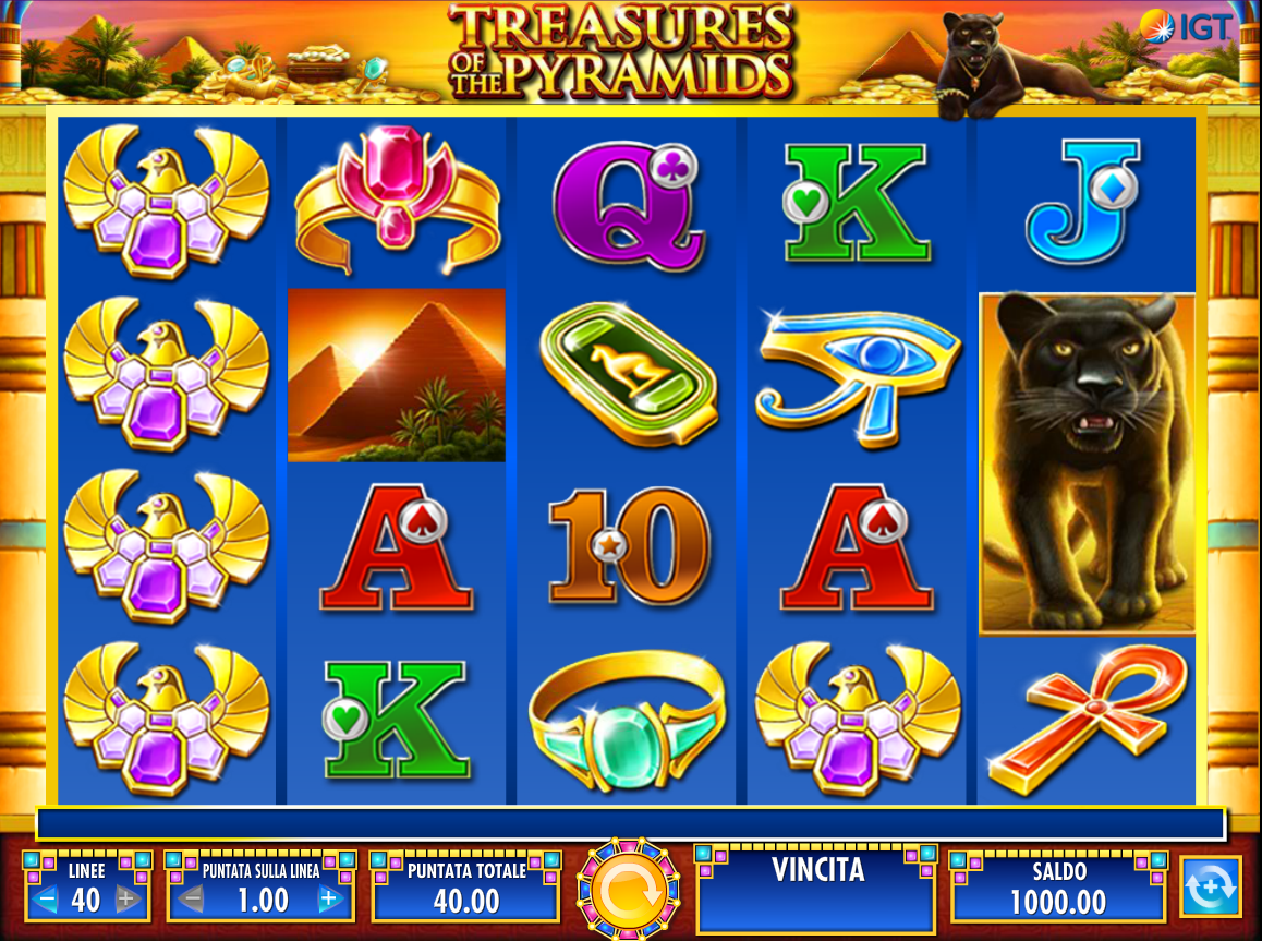 Spiele Treasures Of The Pyramids - Video Slots Online