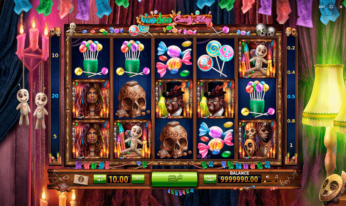 Voodoo Candy Shop Slot Machine