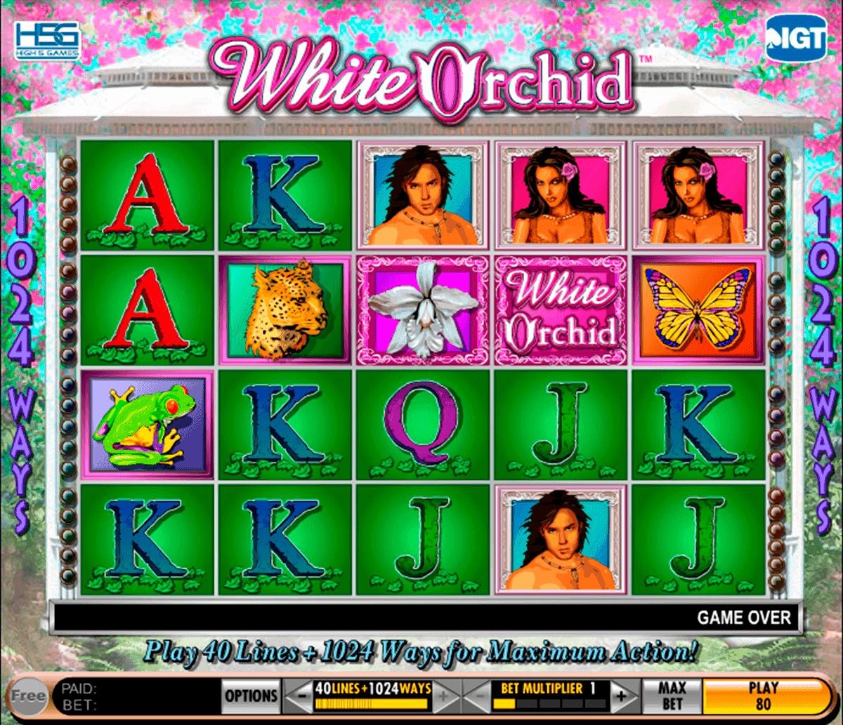 White orchid slot machine online free