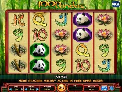 onlineslotsx.com 100 pandas slot