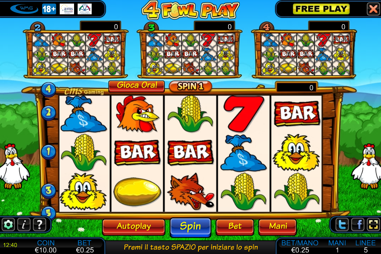 Slot Machine Gratis Fowl Play Gold