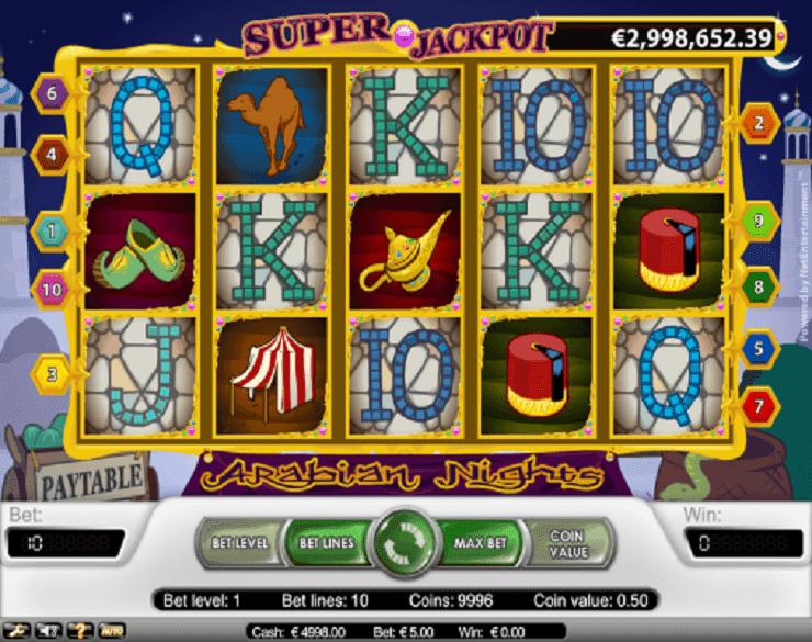 Spiele Arabian Nights Slots - Video Slots Online