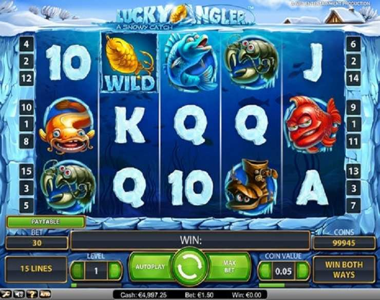 Spiele The Angler - Video Slots Online