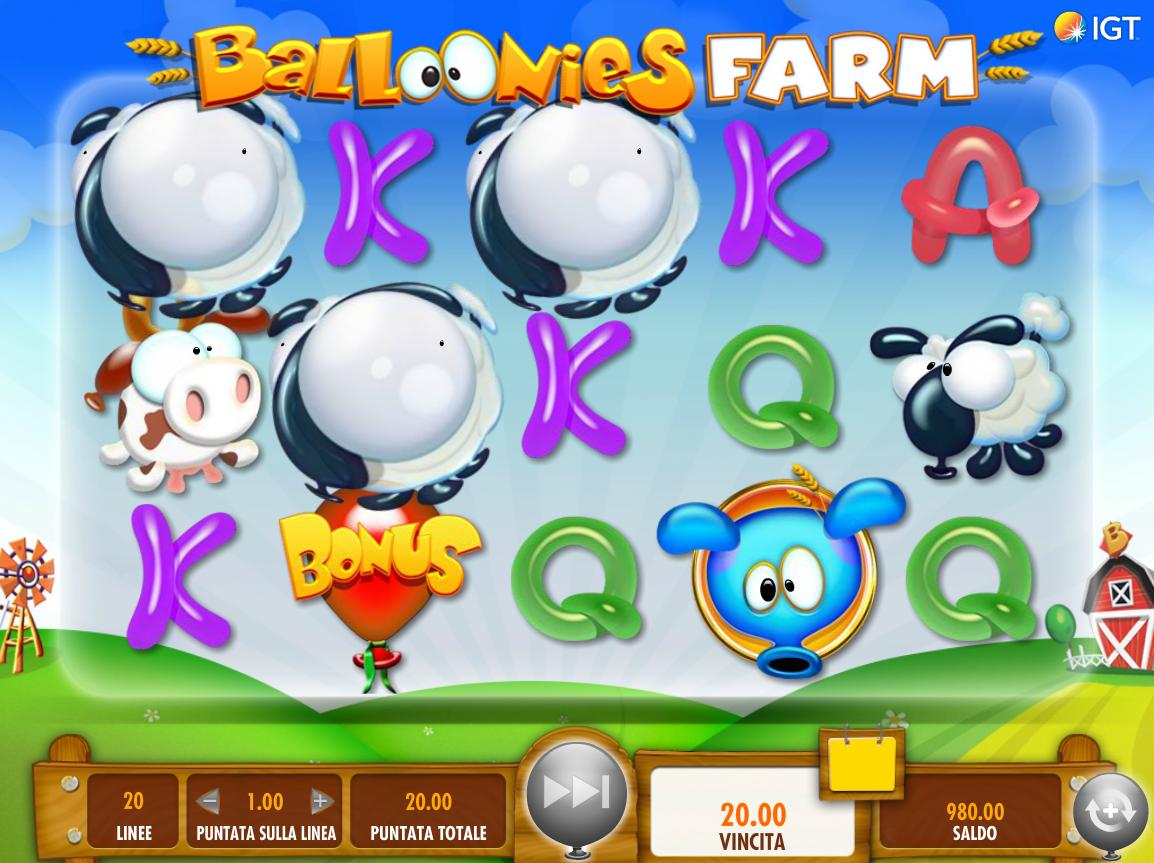 Spiele Balloonies Farm - Video Slots Online
