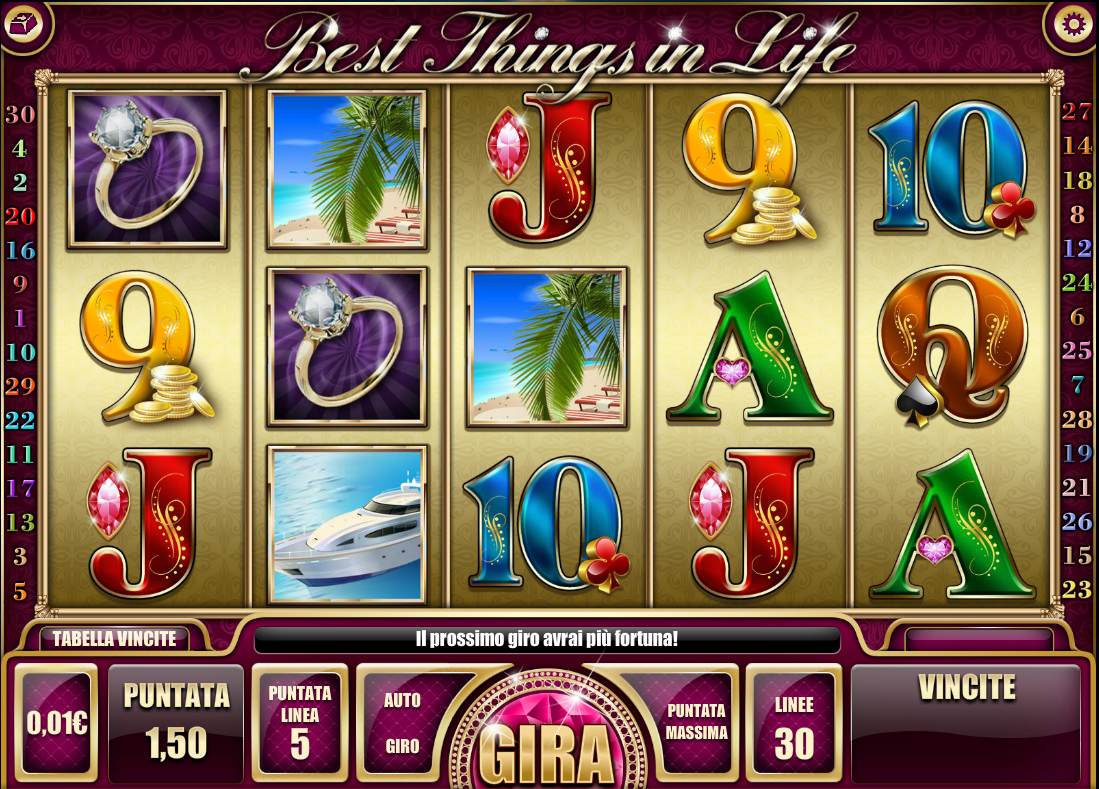 Spiele Best Things In Life - Video Slots Online