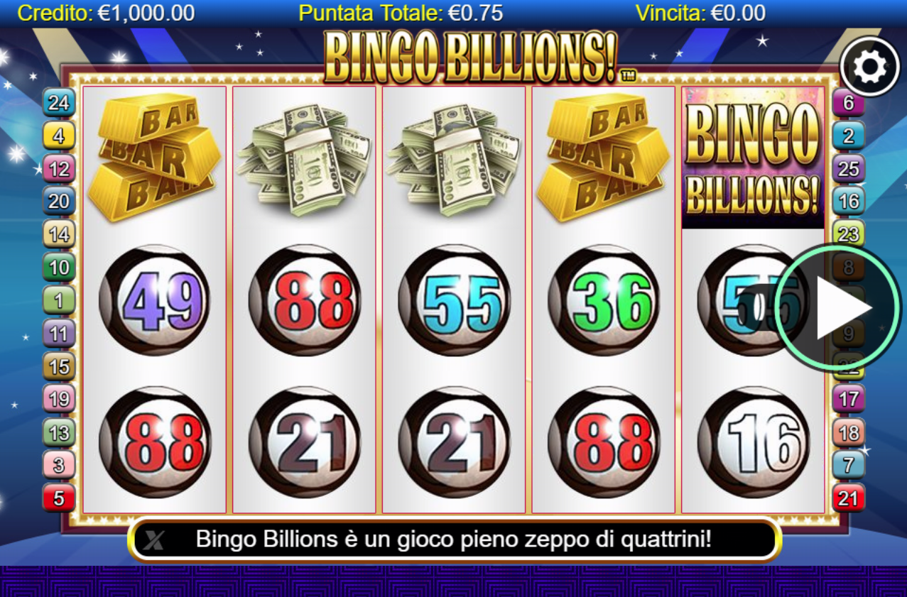 Spiele Bingo Billions - Video Slots Online
