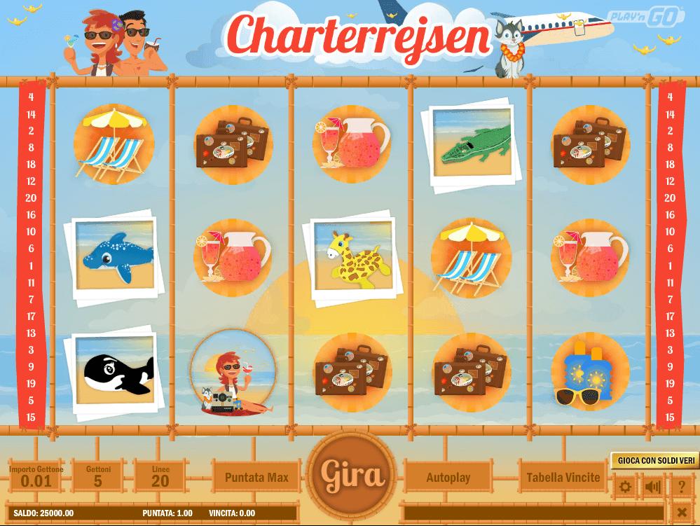 Charterrejsen