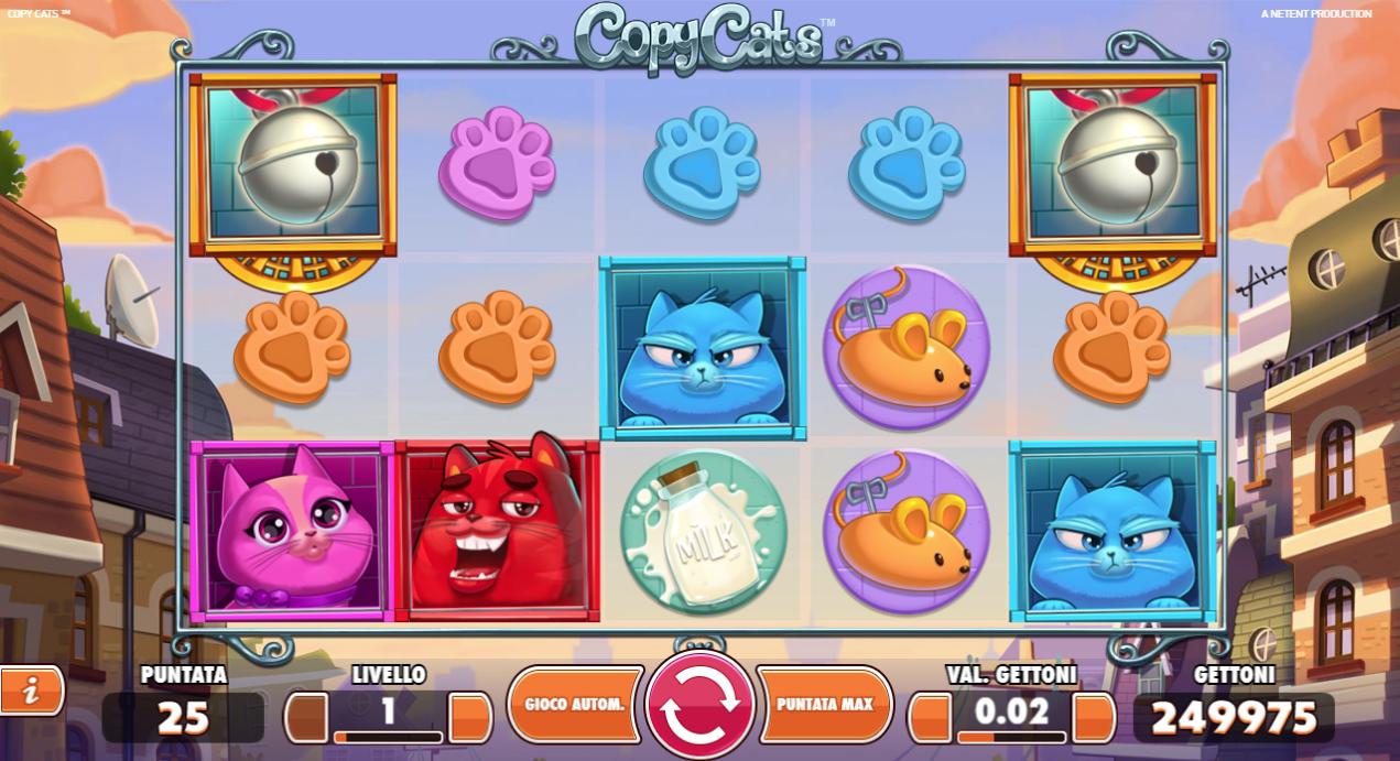 Copy Cats Slot Machine