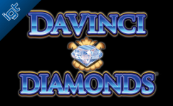 davinci diamonds slot machine rtp
