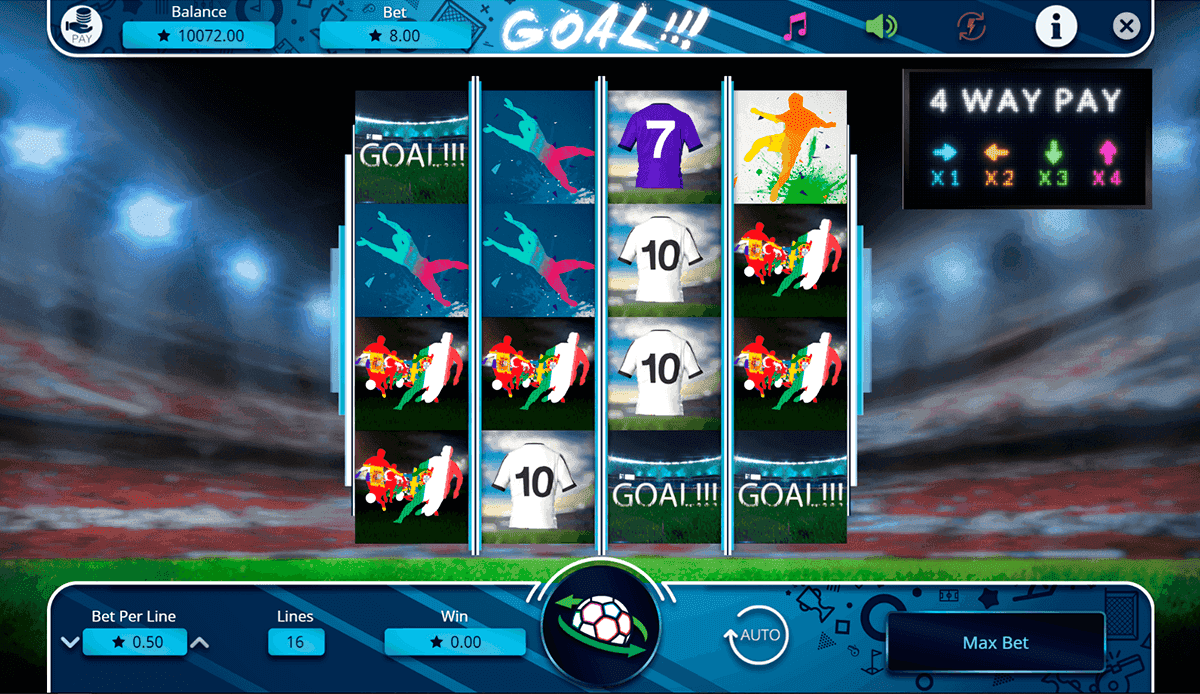 Play Golden Goals Slot Machine Free With No Download