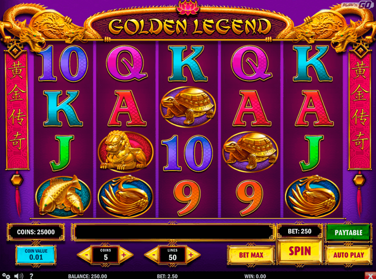 Golden Legend Slot ▷ Play Free Online Golden Legend Casino Game