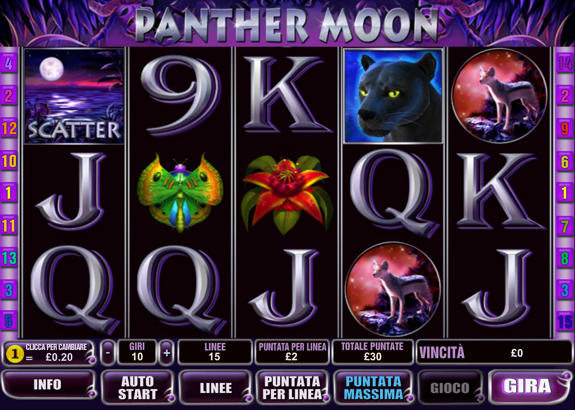 Spiele Panther Moon - Video Slots Online