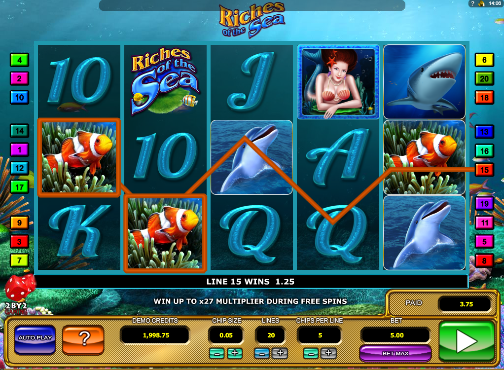 Spiele Riches Of The Sea - Video Slots Online