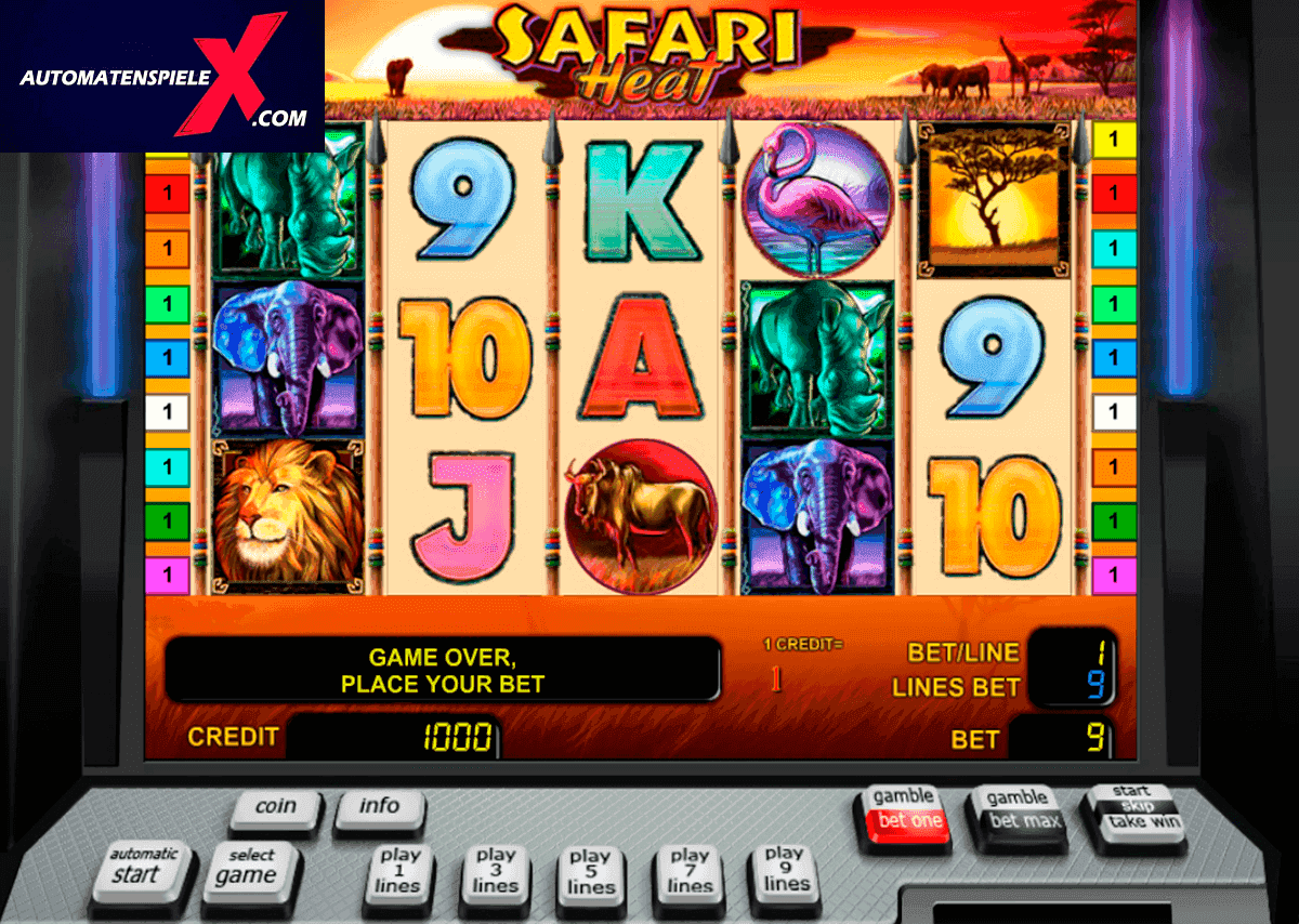 Spiele Safari Heat - Video Slots Online