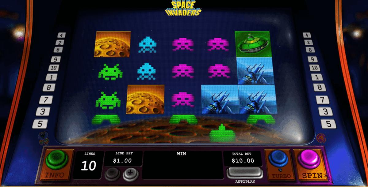 Spiele Space Invasion - Video Slots Online