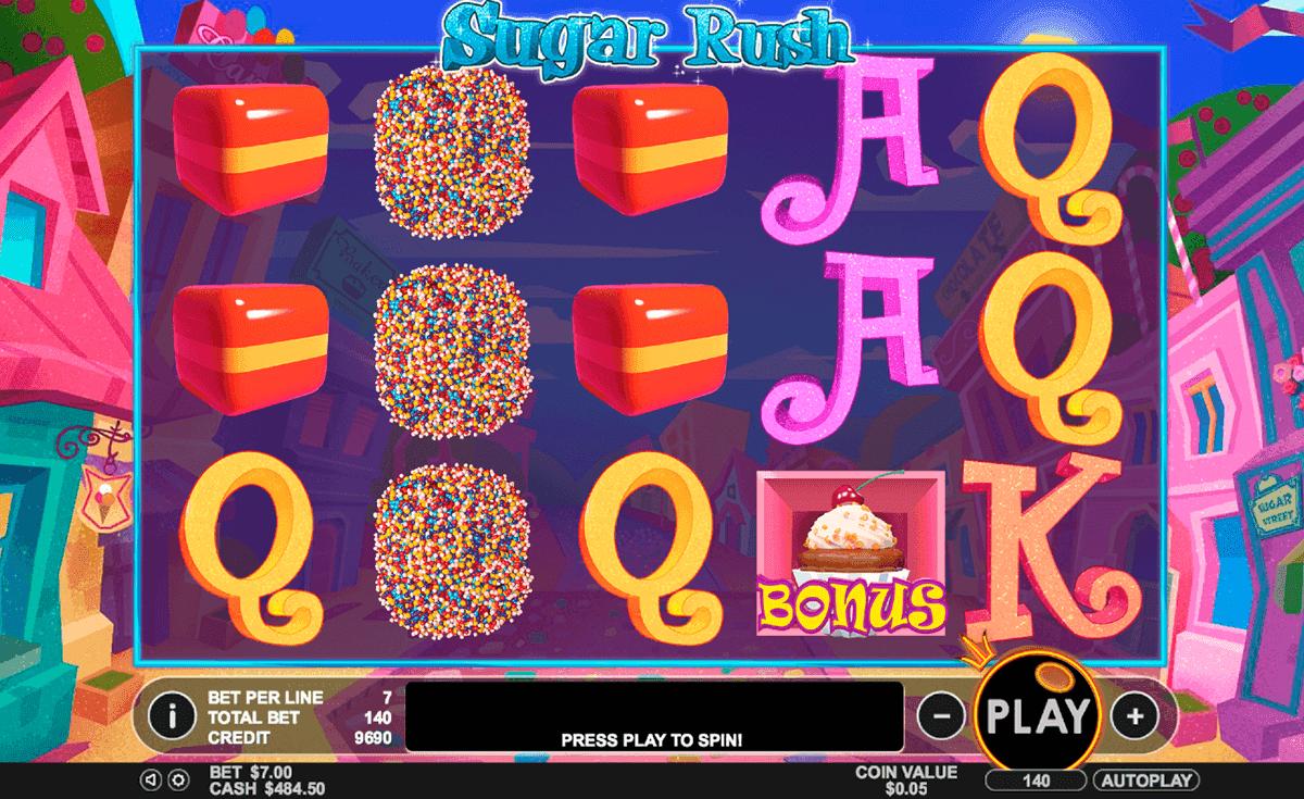 Sugar Rush Slot Machine Online Play FREE Sugar Rush Game
