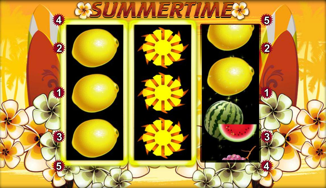 Play Summertime Slot Online