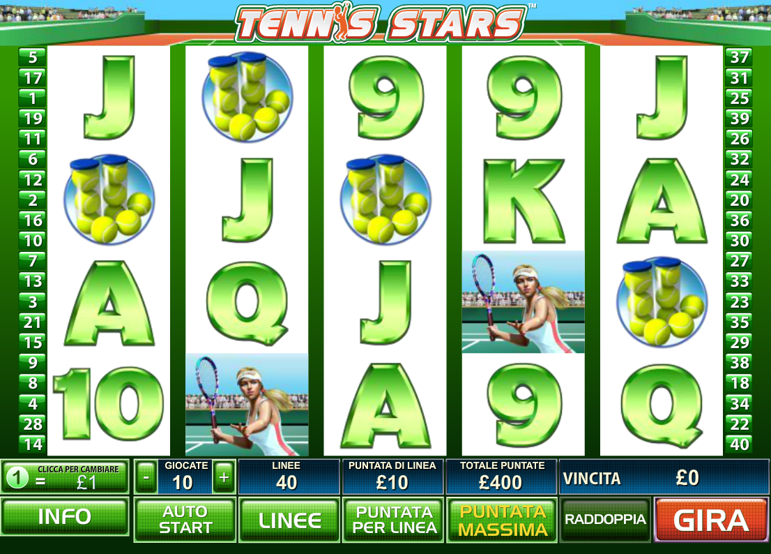 Spiele Tennis Stars - Video Slots Online