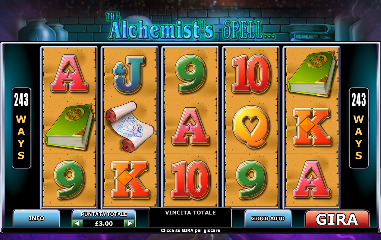 The Alchemist's Spell