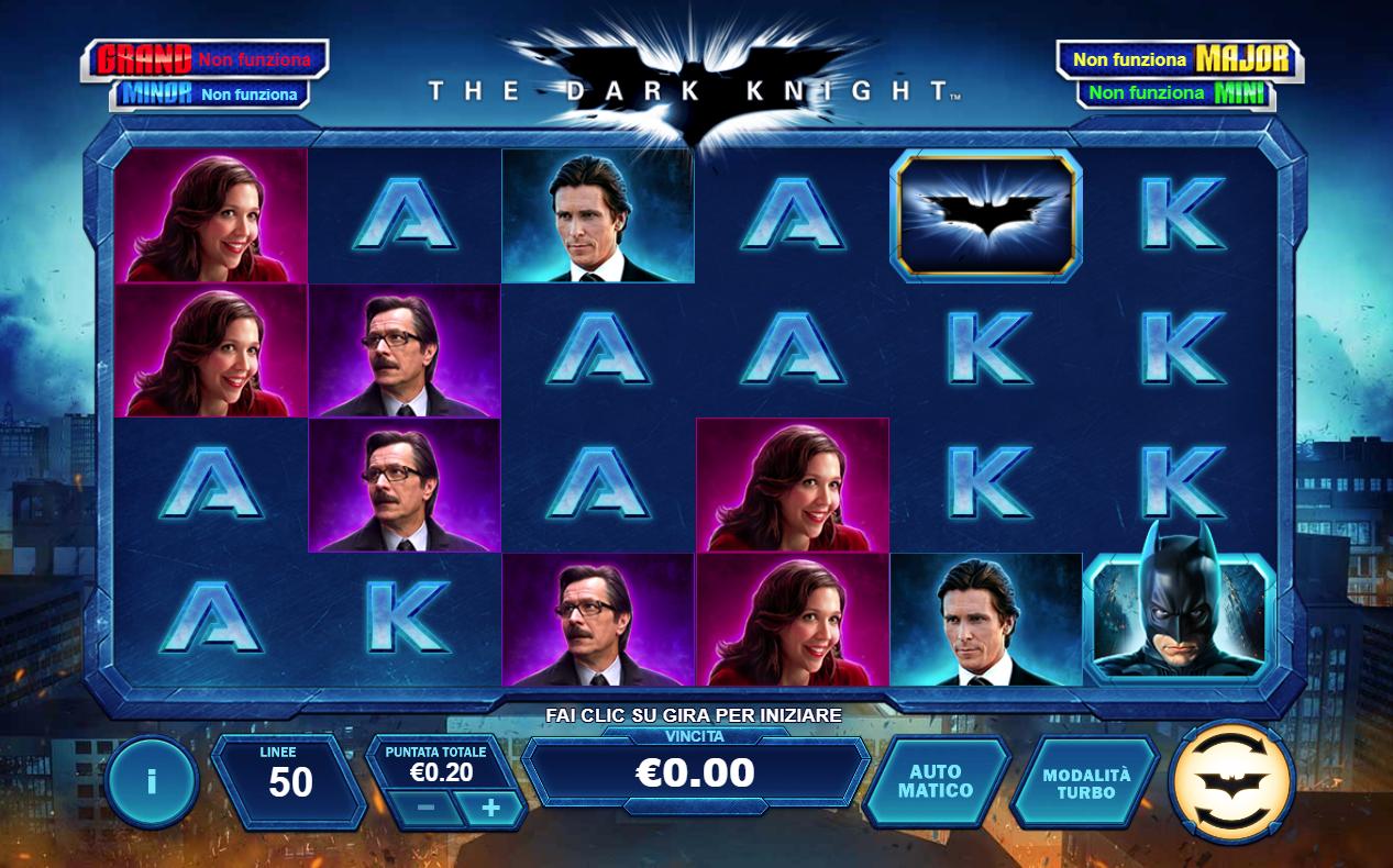Spiele The Dark Knight (Playtech) - Video Slots Online