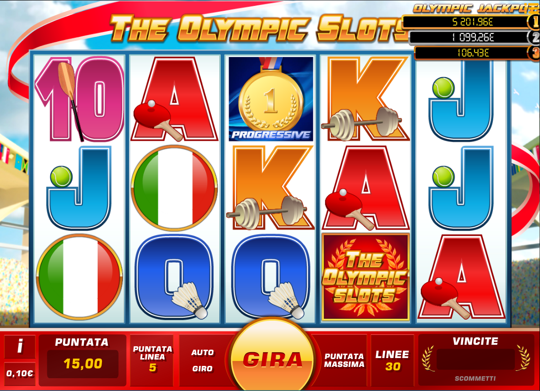 The Olympic Slots