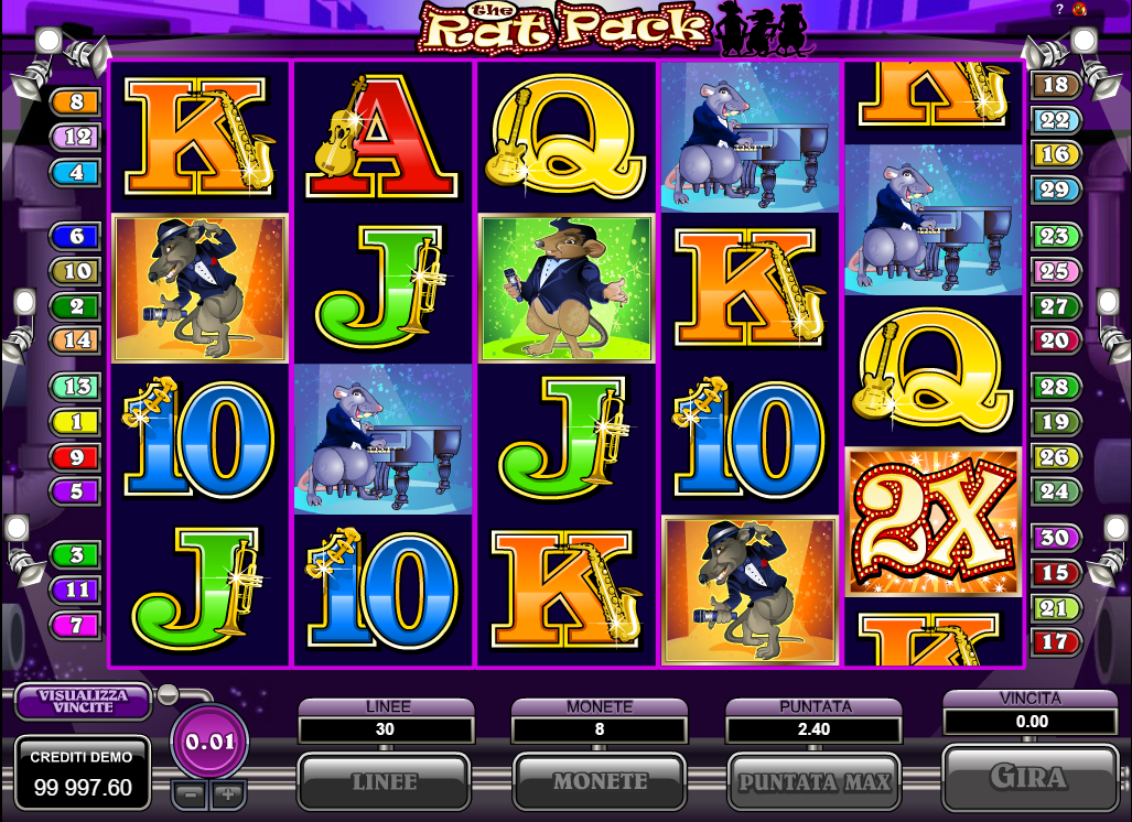 Spiele The Rat Pack - Video Slots Online
